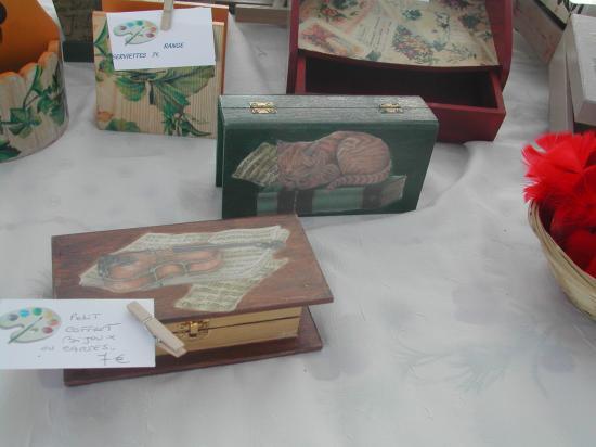 D coration sur bois peinture ou collage for Decoration sur bois